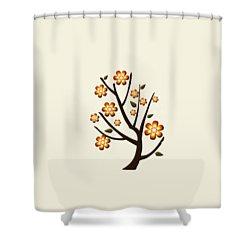 Strange Season Shower Curtain by Anastasiya Malakhova