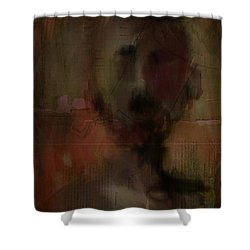 Stranger Shower Curtain