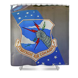 Strategic Air Command Shower Curtain