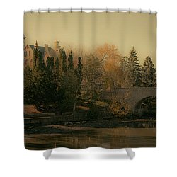 Stratford Courthouse Shower Curtain