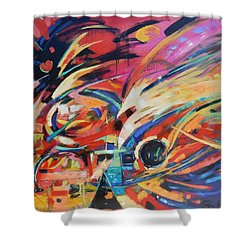 Stravinsky Shower Curtain by Gary Coleman