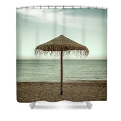 Shower Curtain featuring the photograph Straw Shader by Carlos Caetano