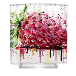 Strawberry 2 Shower Curtain