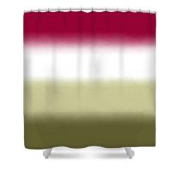 Strawberry - Sq Block Shower Curtain