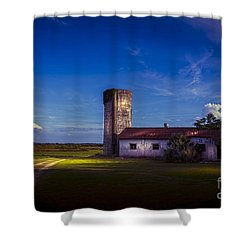 Strawberry Fields Delight Shower Curtain by Marvin Spates