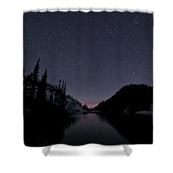 Strawberry Lake Shower Curtain