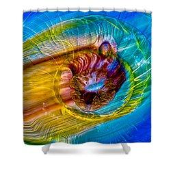 Streaker Shower Curtain by Omaste Witkowski