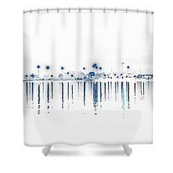 Streaming Lights Shower Curtain