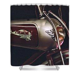 Streamline Aerocycle Shower Curtain