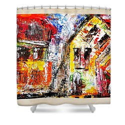 Street 3970 Shower Curtain
