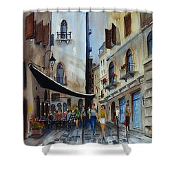 Taverna D' Strada Shower Curtain