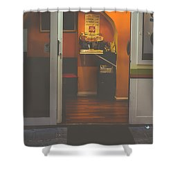 Street Coffee Shower Curtain