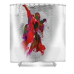 Street Dance 8 Shower Curtain