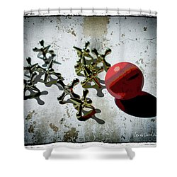 Street Games Shower Curtain