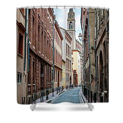 Shower Curtain featuring the photograph Street In Toulouse by Elena Elisseeva