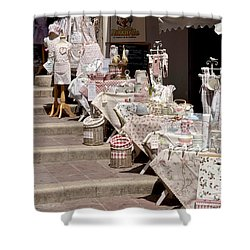 Street Of Nice Shower Curtain
