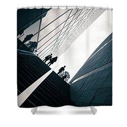 Street Photography Tokyo Shower Curtain