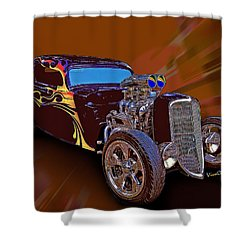 Street Rod What Is It Shower Curtain
