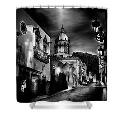 Street To The Nun's Church Shower Curtain