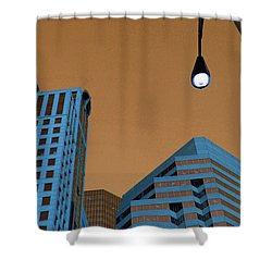 Street View Shower Curtain by Karol Livote