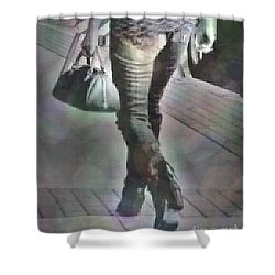 Street Walkin' Shower Curtain