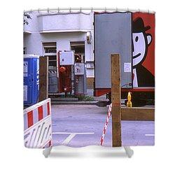 Street Works Shower Curtain