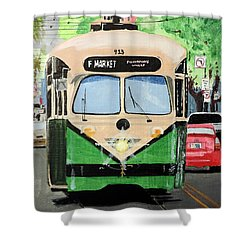 Streetcar Not Named Desire Shower Curtain by Tom Riggs