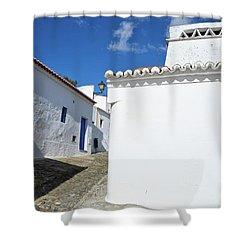 Streets Of A Medieval Castle. Alentejo Shower Curtain