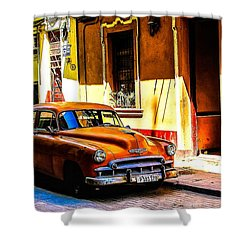 Streets Of Havana Shower Curtain