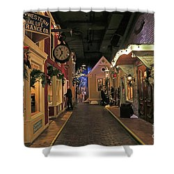 Streets Of Old Milwaukee Shower Curtain