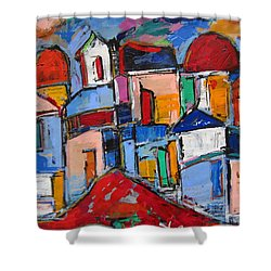 Streets Of Rome Shower Curtain