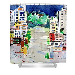 Streets Of San Francsico Shower Curtain
