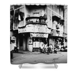 Streetshots_surat Shower Curtain