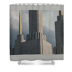 Strength And Power Shower Curtain