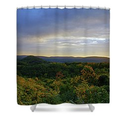 Strength Of The Day Shower Curtain