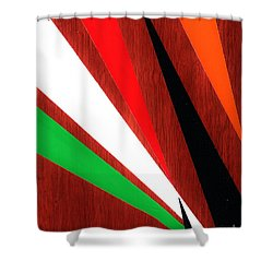 Stress Fractures  Shower Curtain