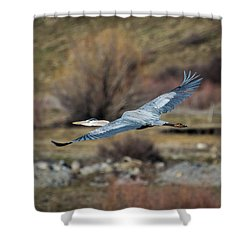 Stretched Wide Open Shower Curtain