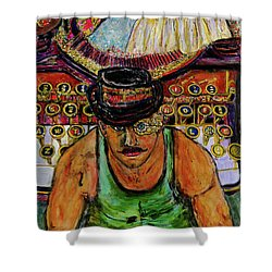 Strife  Shower Curtain by Lindsay Strubbe