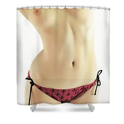 String Bikini Shower Curtain