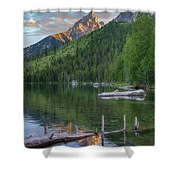 String Lake Shower Curtain