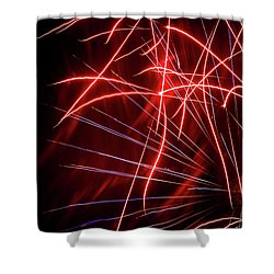 Stringers Shower Curtain