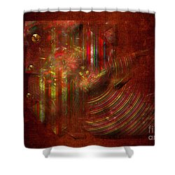Strips Shower Curtain