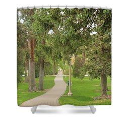 Stroll Shower Curtain
