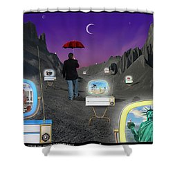 Shower Curtain featuring the photograph Strolling Down Memory Lane by Mike McGlothlen