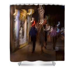 Strolling Duval Shower Curtain