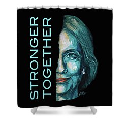Stronger Together Shower Curtain by Konni Jensen
