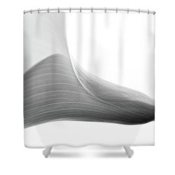 Structure Shower Curtain by Rebecca Cozart