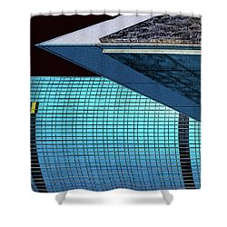 Structures West 3 Shower Curtain by Bruce Iorio