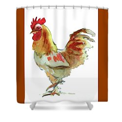 Shower Curtain featuring the painting Strut Your Stuff 4 by Kathy Braud