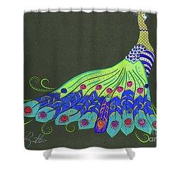 Struttin' Shower Curtain
